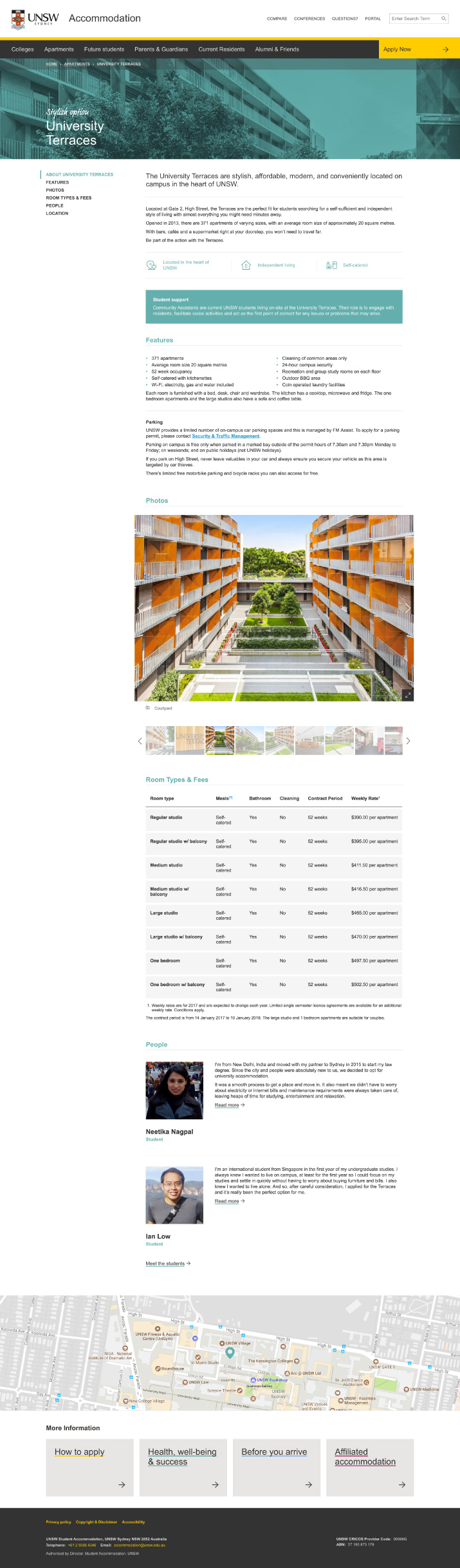 UNSW Accommodation - Apartment